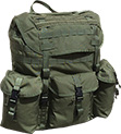 A.L.I.C.E. / MOLLE Rucksack Modified with MOLLE/PALLS